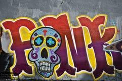 Städtische Kunst - Zusammenfassung Stockfoto