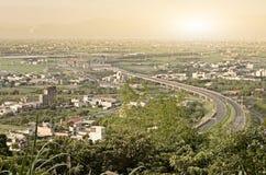 Städtische Landschaft lizenzfreies stockbild