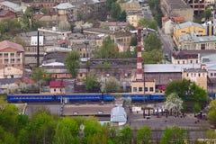 Städtische Landschaft stockfotos