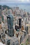 Städtische Landschaft in Hong Kong Stockfotos