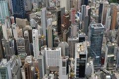 Städtische Landschaft in Hong Kong Stockbilder