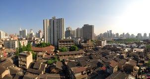 Städtische Landschaft von Shanghai, China Stockfoto