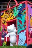 Städtische lebens- Skulpturen Stockfoto