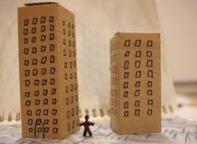 Städtische Lebensdauer Stockbild