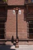Städtische Leuchte in San Luis Potosi im Stadtzentrum gelegen stockfotos