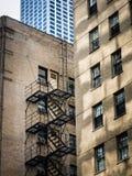 Städtische Muster - Chicago Stockfoto