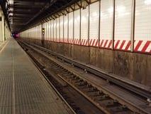 Städtische Nahverkehrszugbahnen der Stadt Stockbilder