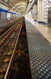 Städtische Nahverkehrszugbahnen der Stadt Lizenzfreies Stockbild