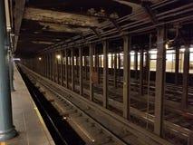 Städtische Nahverkehrszugbahnen der Stadt Lizenzfreie Stockfotos