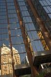 Städtische Reflexion stockfotografie