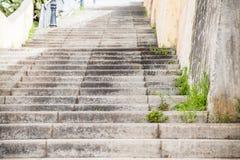 Städtische Schritte Stockfoto