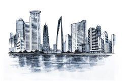 Städtische Stadt vektor abbildung