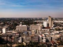 städtische Stadt in Bangkok Stockfotos
