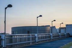 Städtische Stadt-Dachspitze 2 Stockbild