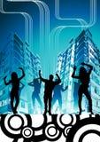 Städtische Stadt-Party Lizenzfreie Stockfotos