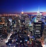 Städtische Stadt-Skyline Stockfoto