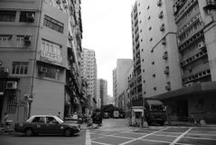 Städtische Straße Stockbild
