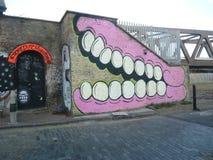 Städtische Straße Art Graffiti Londons Stockfotografie