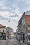 Städtische Szene Aarhus Stockbild