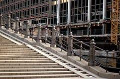 Städtische Treppen Stockfoto