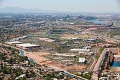 Städtische Wüste Stockbilder
