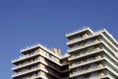 Städtische Wohnanlage Stockfotografie