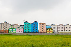Städtische Wohnung stockfotografie
