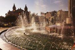 Städtischer artesischer Brunnen Lizenzfreie Stockfotografie