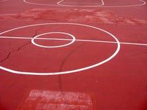 Städtischer Basketballplatz Lizenzfreie Stockbilder