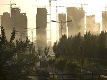 Städtischer Bau Stockfotos