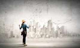 Städtischer Bau Lizenzfreies Stockfoto