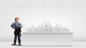 Städtischer Bau Stockfoto