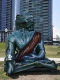 Städtischer Buddha Lizenzfreie Stockbilder