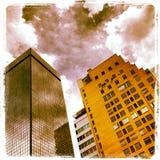 Städtischer Dschungel Stockfotos