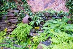 Städtischer Garten Stockfotografie
