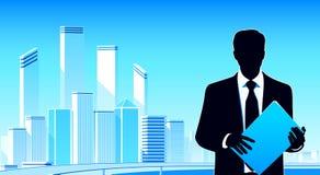 Städtischer Geschäftsmann Stockbild