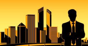 Städtischer Geschäftsmann Lizenzfreies Stockbild