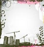 Städtischer Hintergrund stock abbildung