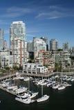 Städtischer Jachthafen Stockfoto