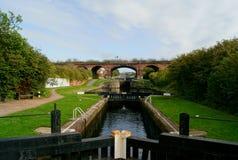 Städtischer Kanal Stockbilder