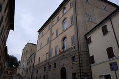 Städtischer Palast von camerano Stockfotos