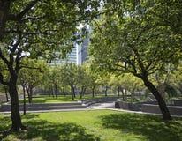 Städtischer Park Stockfotografie