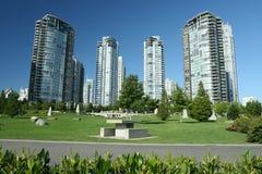 Städtischer Park Lizenzfreie Stockfotos