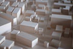 Städtischer Plan Lizenzfreies Stockfoto