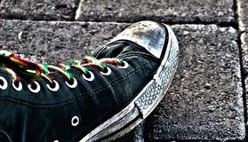 Städtischer Schuh Stockfotografie