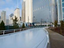 Städtischer Spielplatz Stockbild