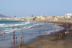 Städtischer Strand Lizenzfreie Stockfotografie