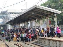 Städtischer Transport Jakartas Stockfoto