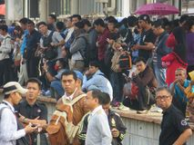 Städtischer Transport Jakartas Stockbild