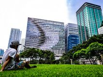 Städtischer Trichter lizenzfreie stockfotos